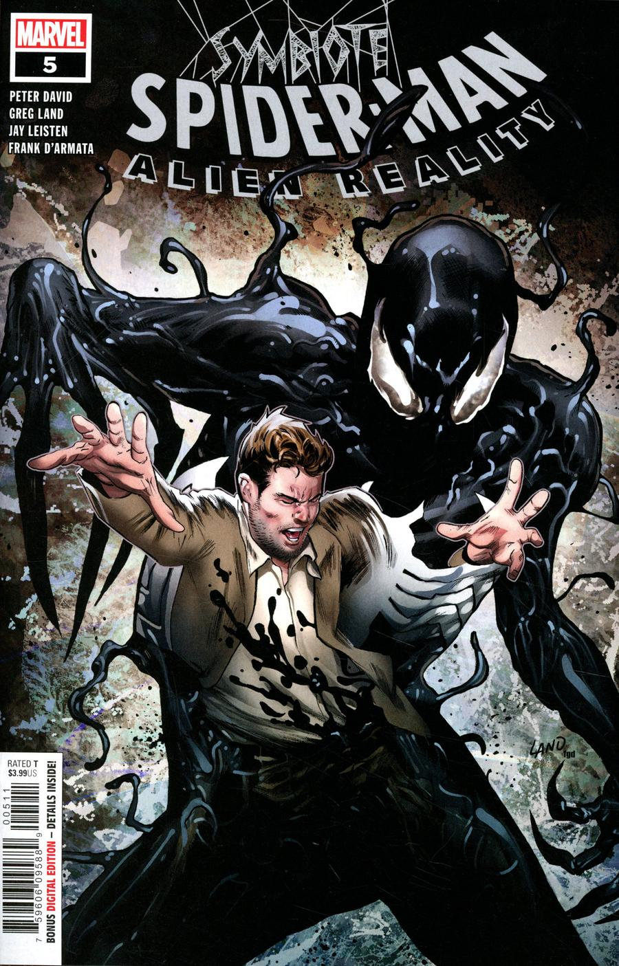 Symbiote Spider-Man Alien Reality #5 Cover A Regular Greg Land Cover