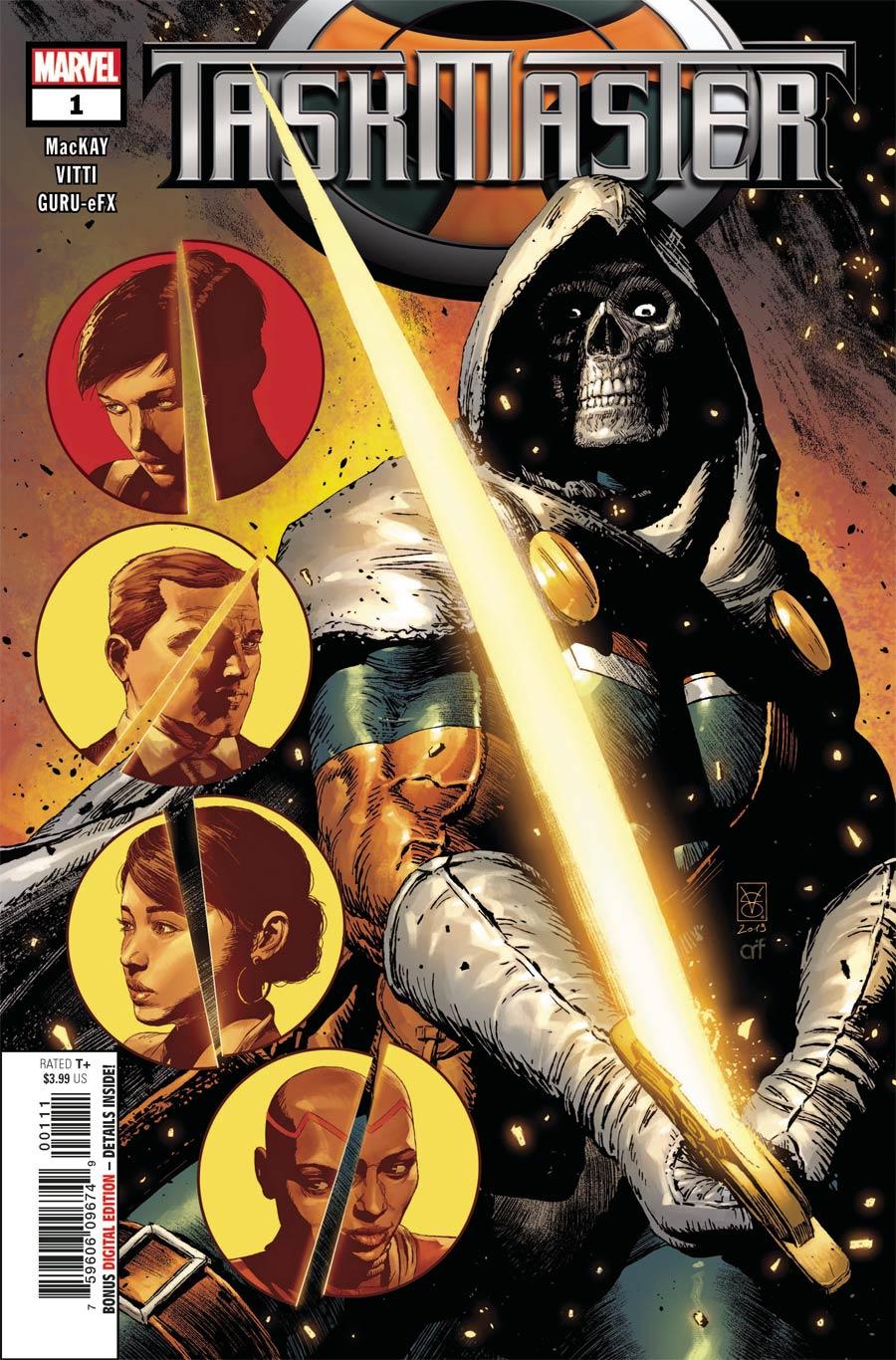 Taskmaster Vol 3 #1 Cover A Regular Valerio Giangiordano Cover