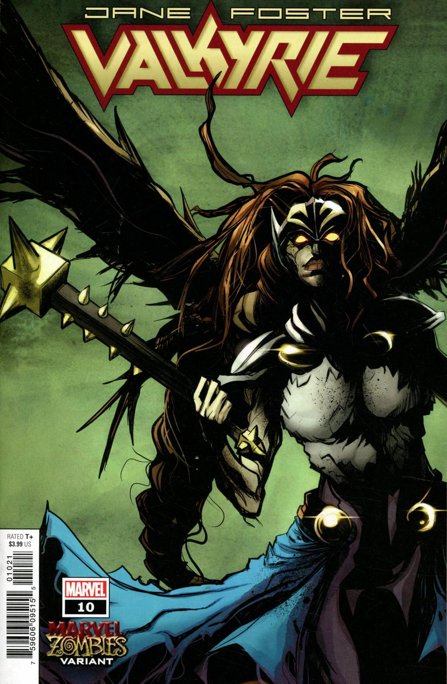 Valkyrie Jane Foster #10 Cover B Variant Robbi Rodriguez Marvel Zombies Cover