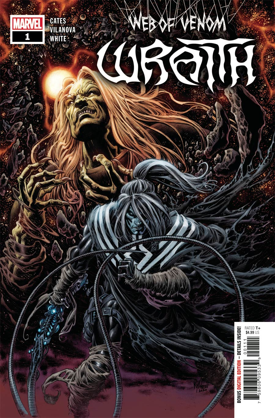 Web Of Venom Wraith #1 Cover A Regular Kyle Hotz Cover