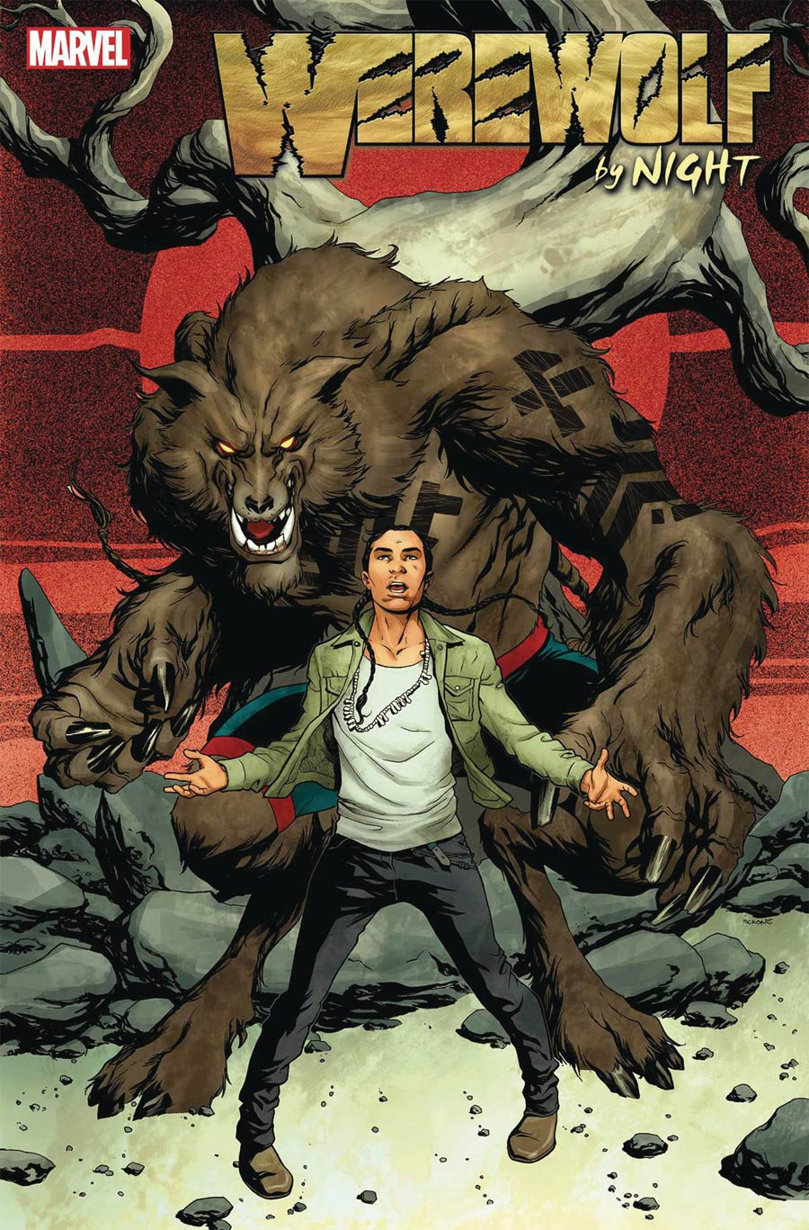 Werewolf By Night Vol 3 #1 Cover A Regular Mike McKone Cover