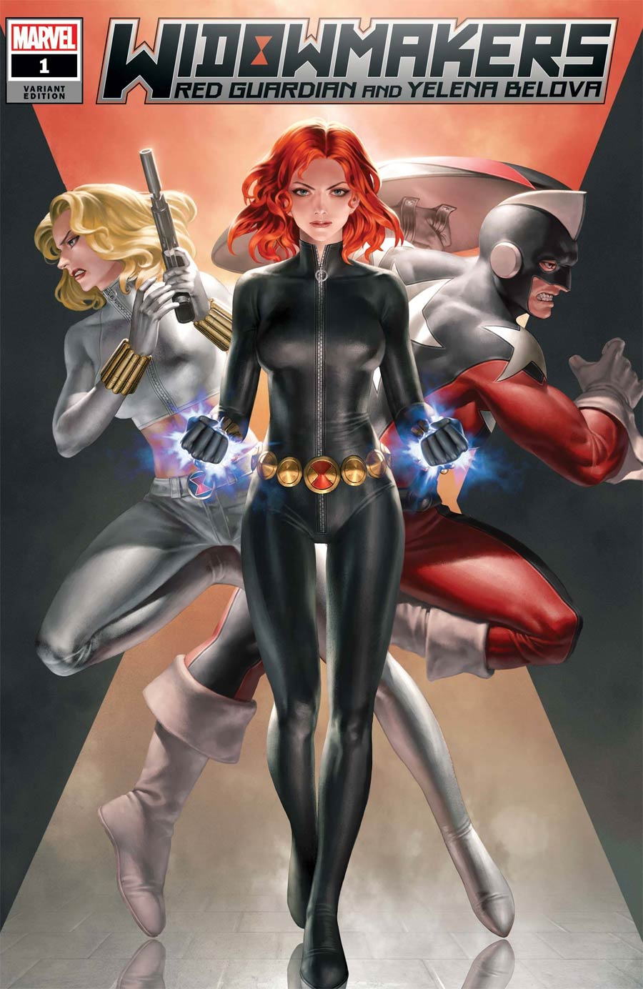 Widowmakers Red Guardian And Yelena Belova #1 Cover C Variant Jeehyung Lee Cover