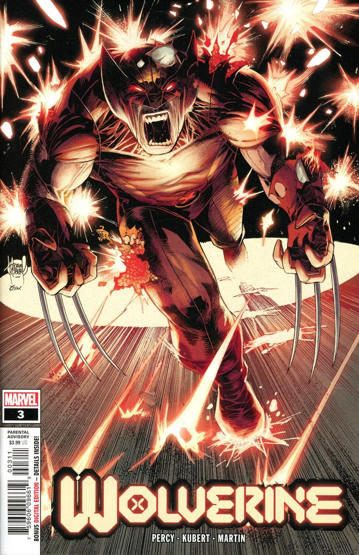 Wolverine Vol 7 #3 Cover A 1st Ptg Regular Adam Kubert Cover