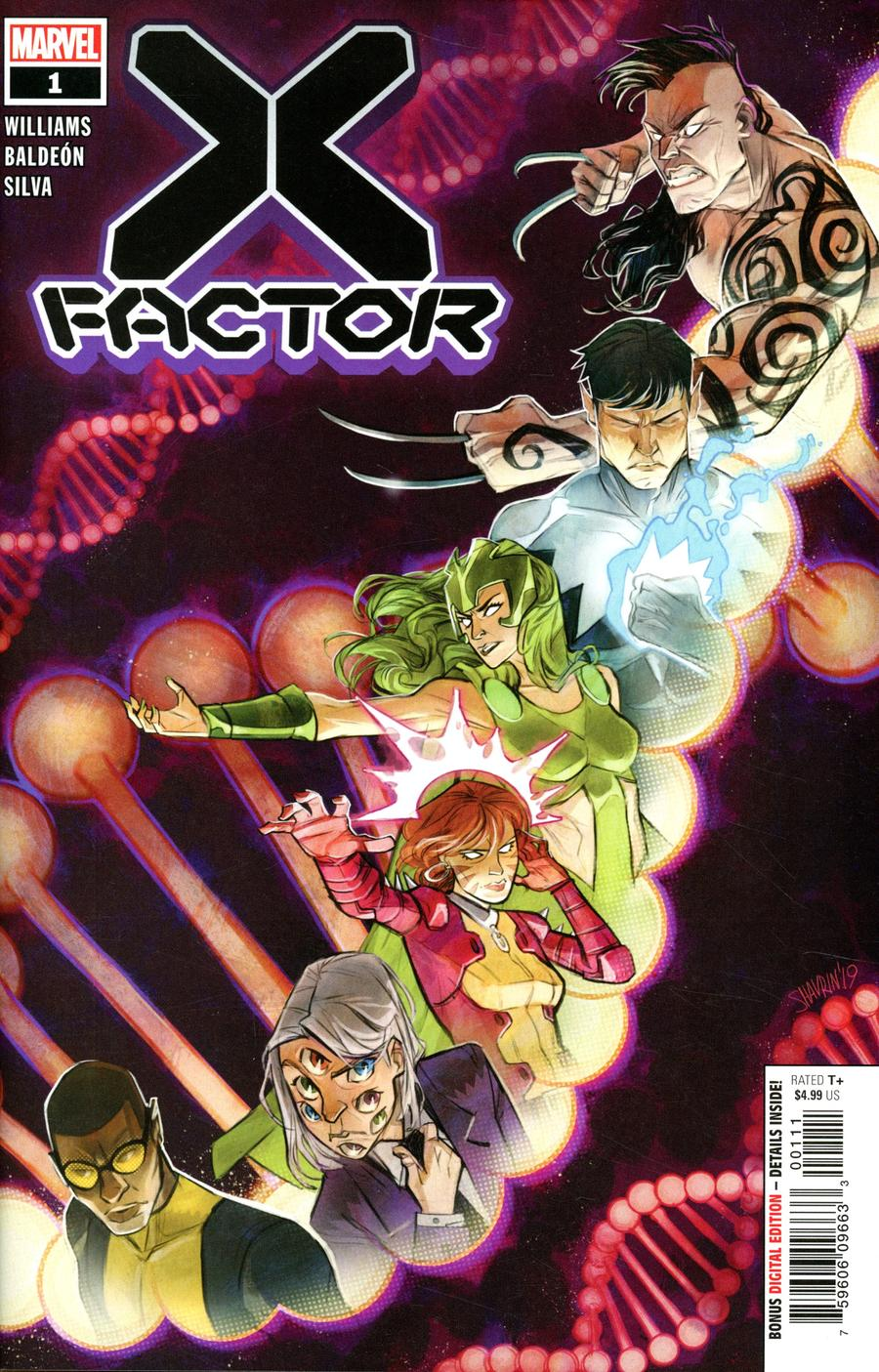 X-Factor Vol 4 #1 Cover A 1st Ptg Regular Ivan Shavrin Cover