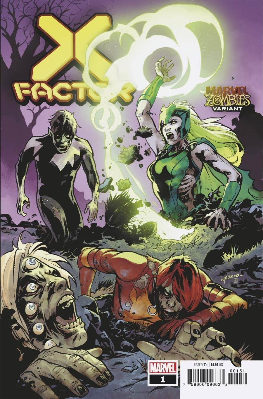 X-Factor Vol 4 #1 Cover B Variant Emanuela Lupacchino Cover