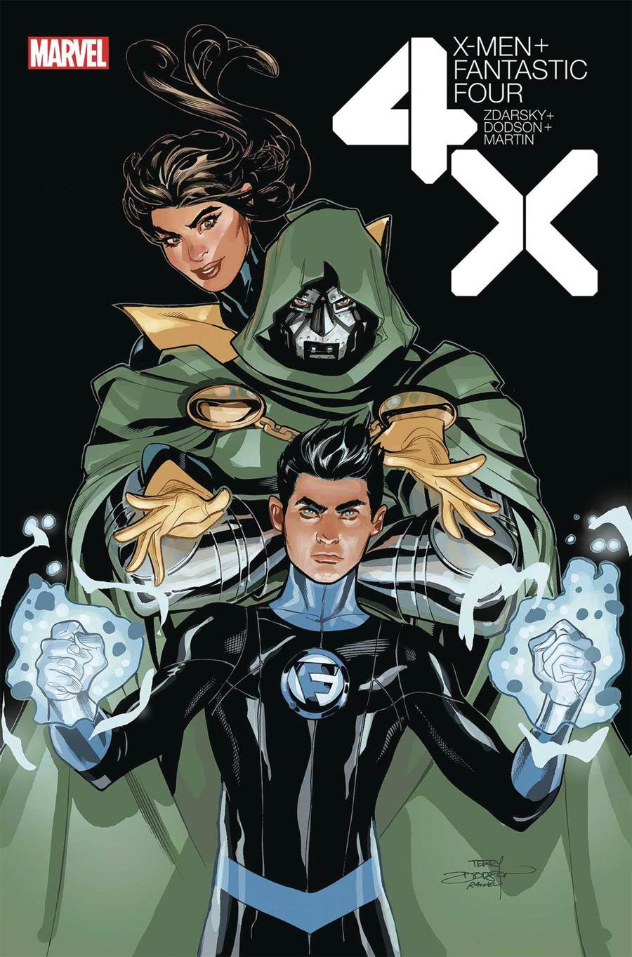 X-Men Fantastic Four Vol 2 #4 Cover A Regular Terry Dodson Cover