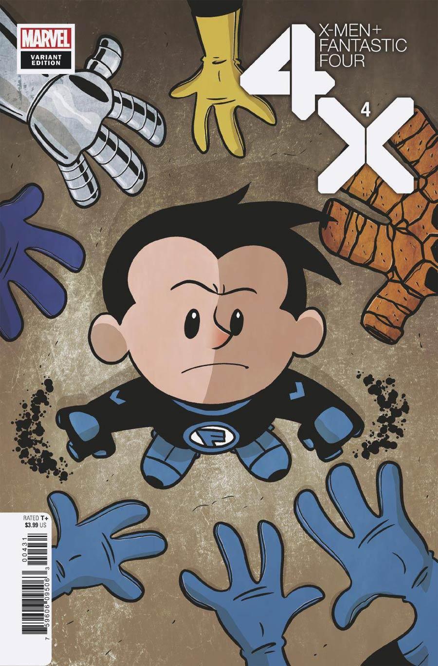 X-Men Fantastic Four Vol 2 #4 Cover D Variant Chris Eliopoulos Cover