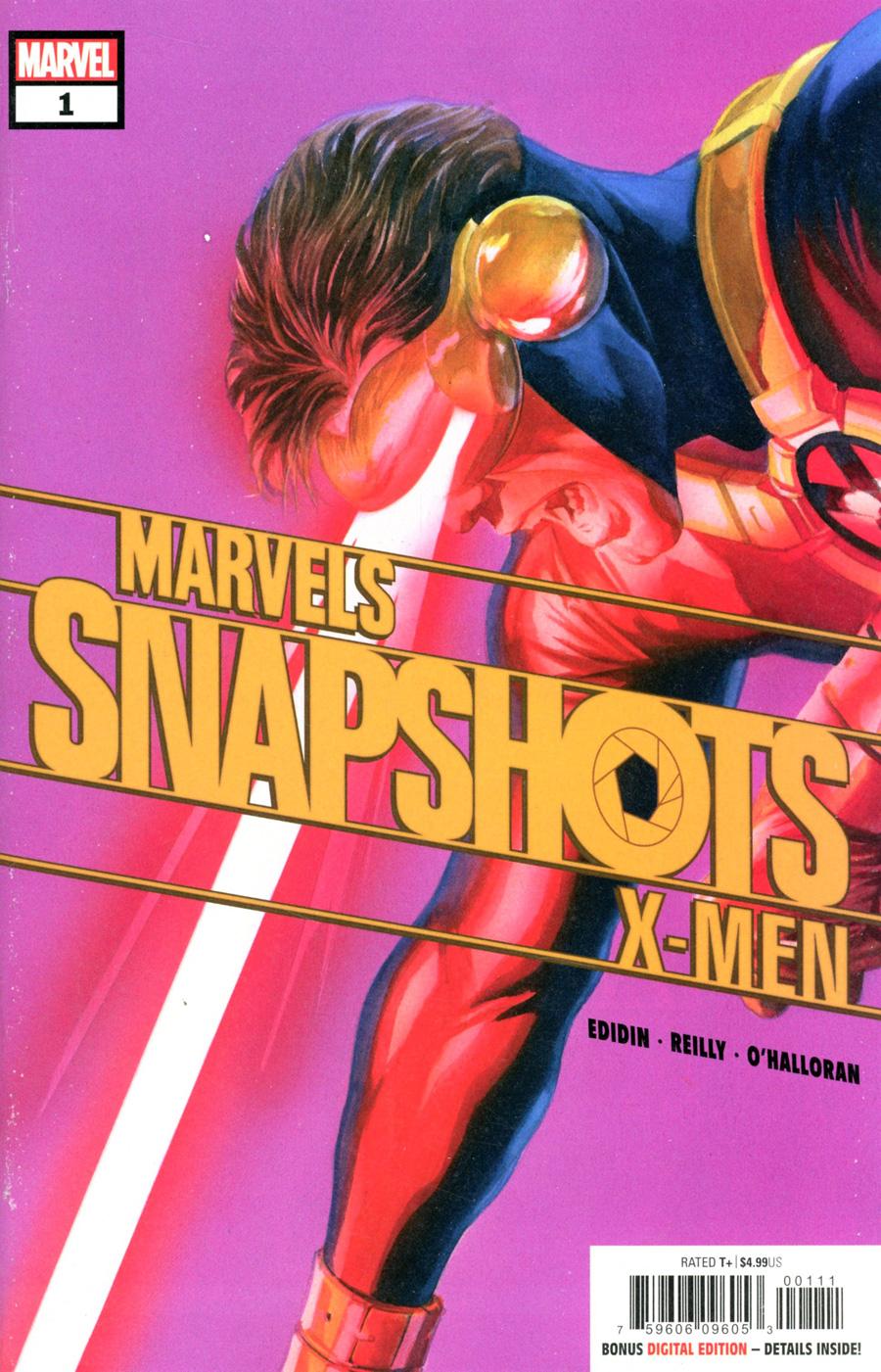 X-Men Marvels Snapshots #1 Cover A Regular Alex Ross Cover