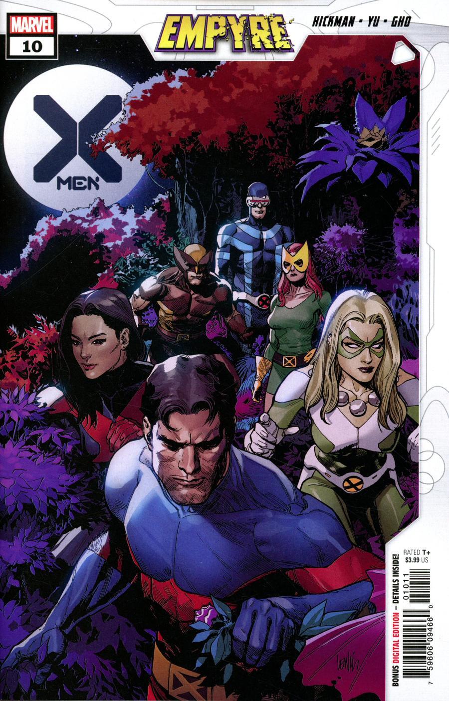 X-Men Vol 5 #10 Cover A Regular Leinil Francis Yu Cover (Empyre Tie-In)