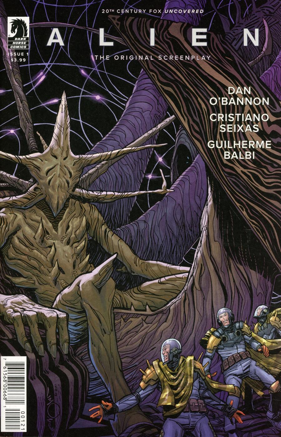 Alien Original Screenplay #1 Cover B Variant Walter Simonson Cover