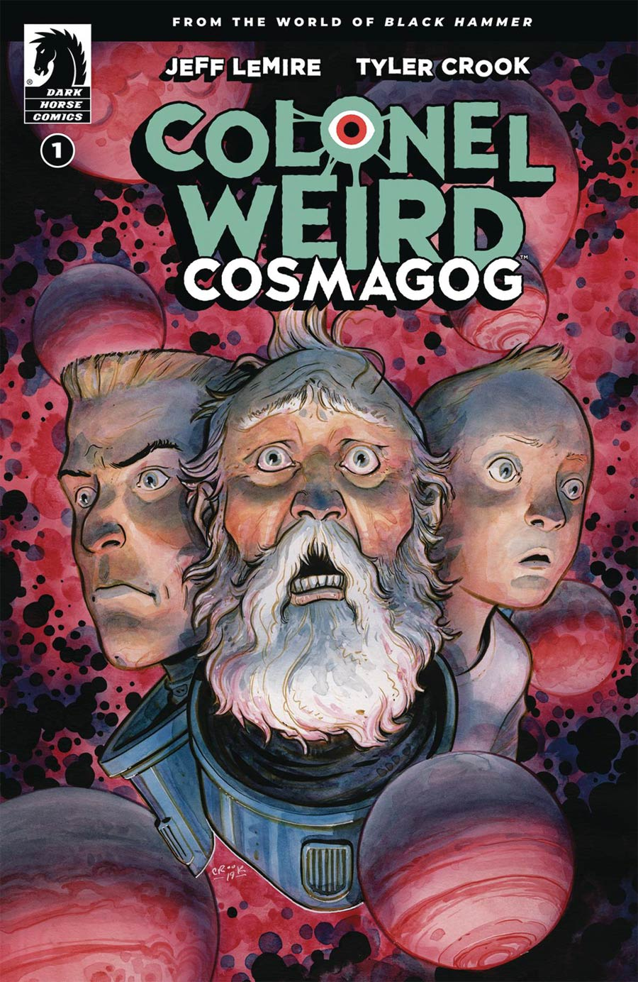 Colonel Weird Cosmagog #1 Cover A Regular Tyler Crook Cover