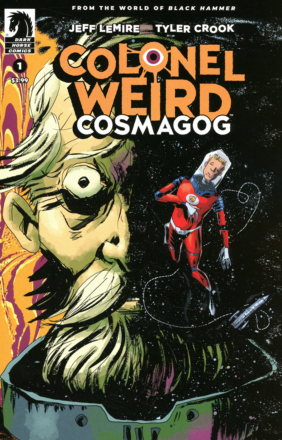 Colonel Weird Cosmagog #1 Cover B Variant Jeff Lemire & Dave Stewart Cover
