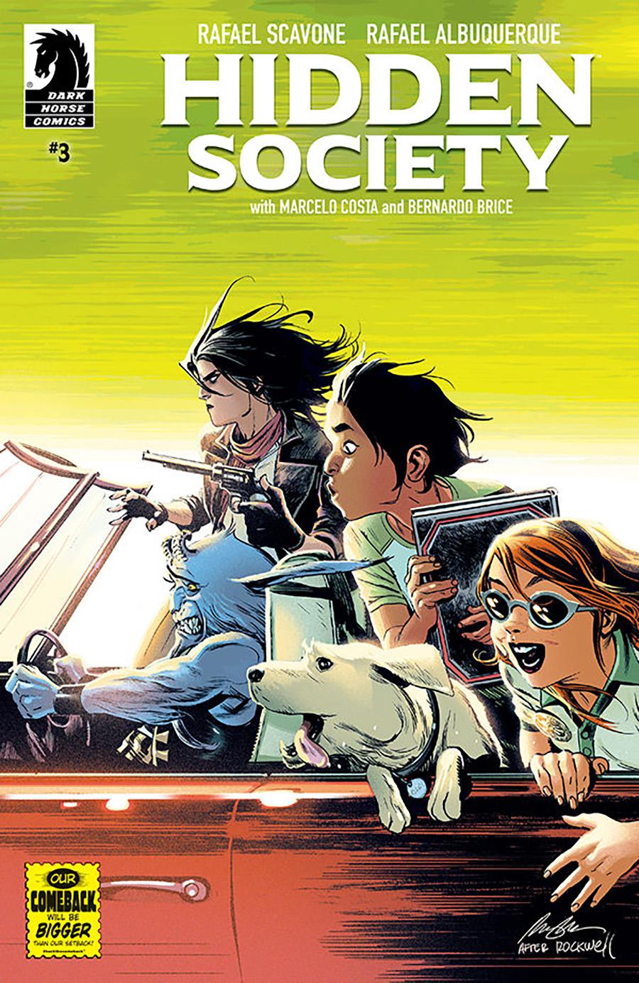 Hidden Society #3 Cover A Regular Rafael Albuquerque Cover
