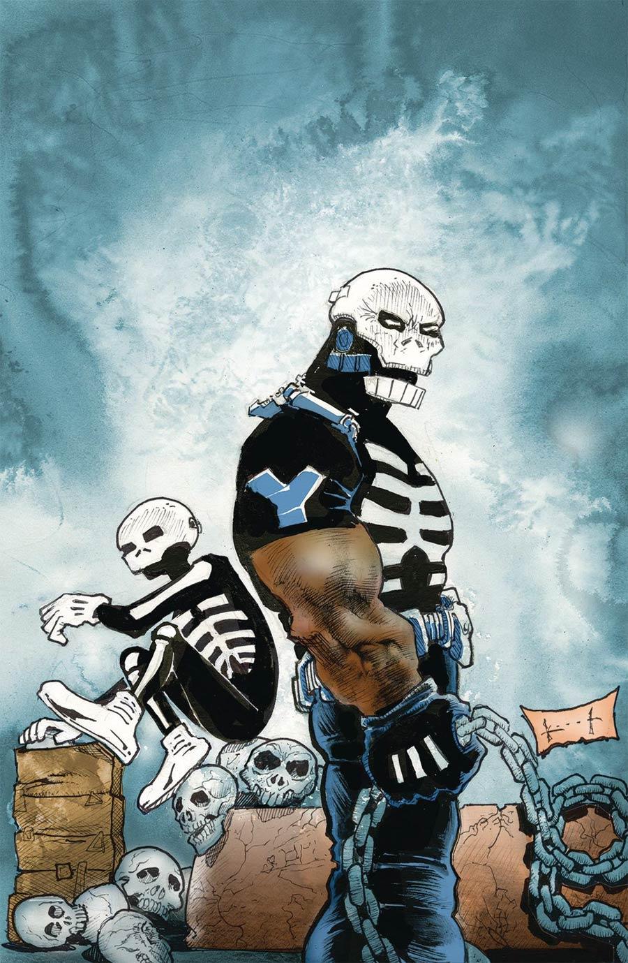 Skulldigger And Skeleton Boy From The World Of Black Hammer #5 Cover B Variant Sam Kieth Cover