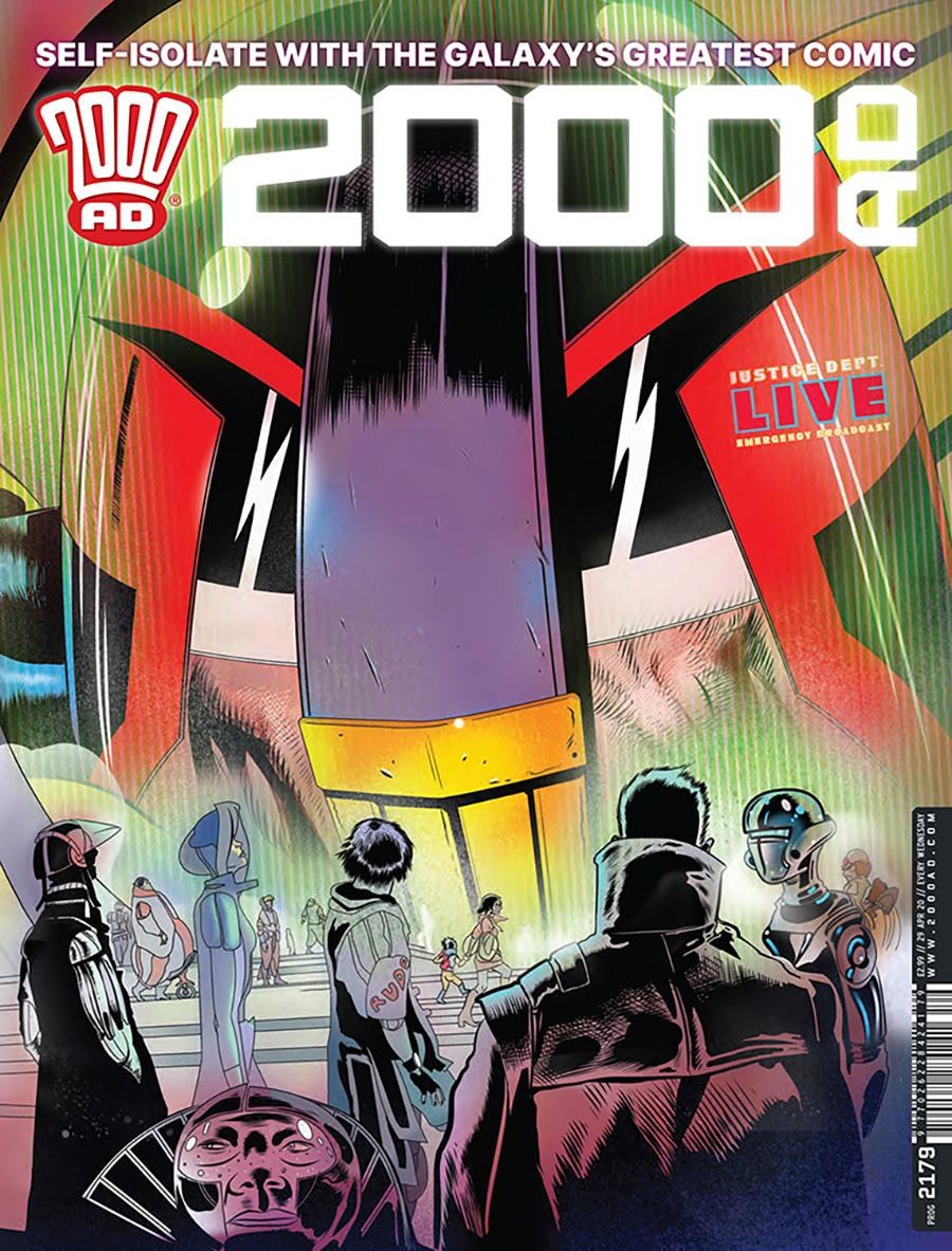2000 AD Pack April 2020