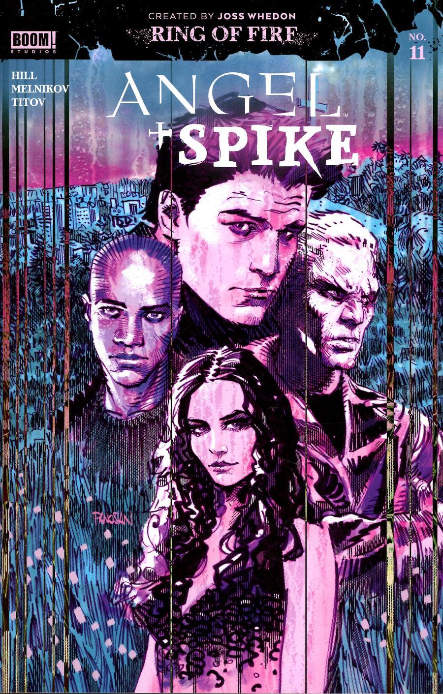 Angel & Spike #11 Cover A Regular Dan Panosian Cover