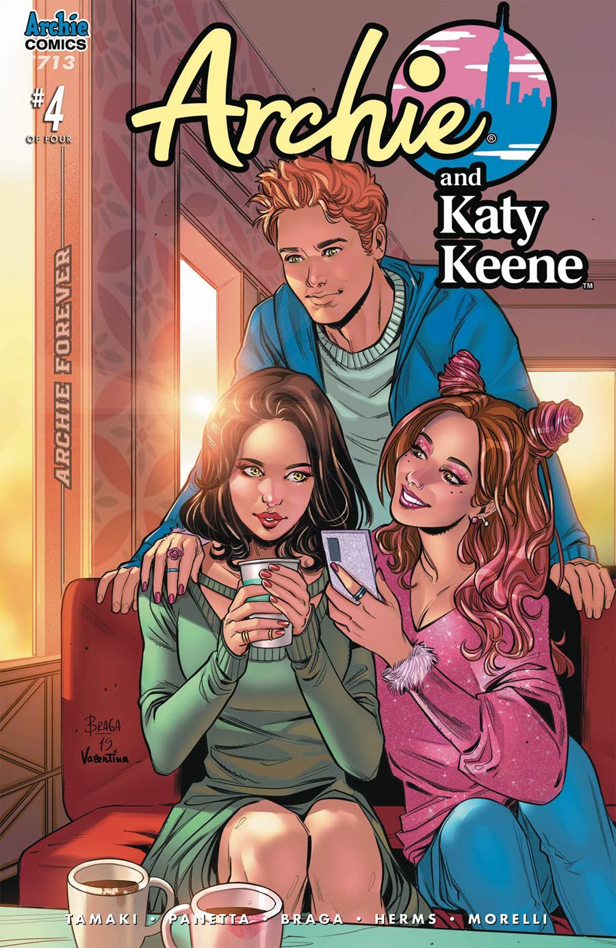 Archie Vol 2 #713 Archie And Katy Keene Part 4 Cover A Regular Laura Braga Cover