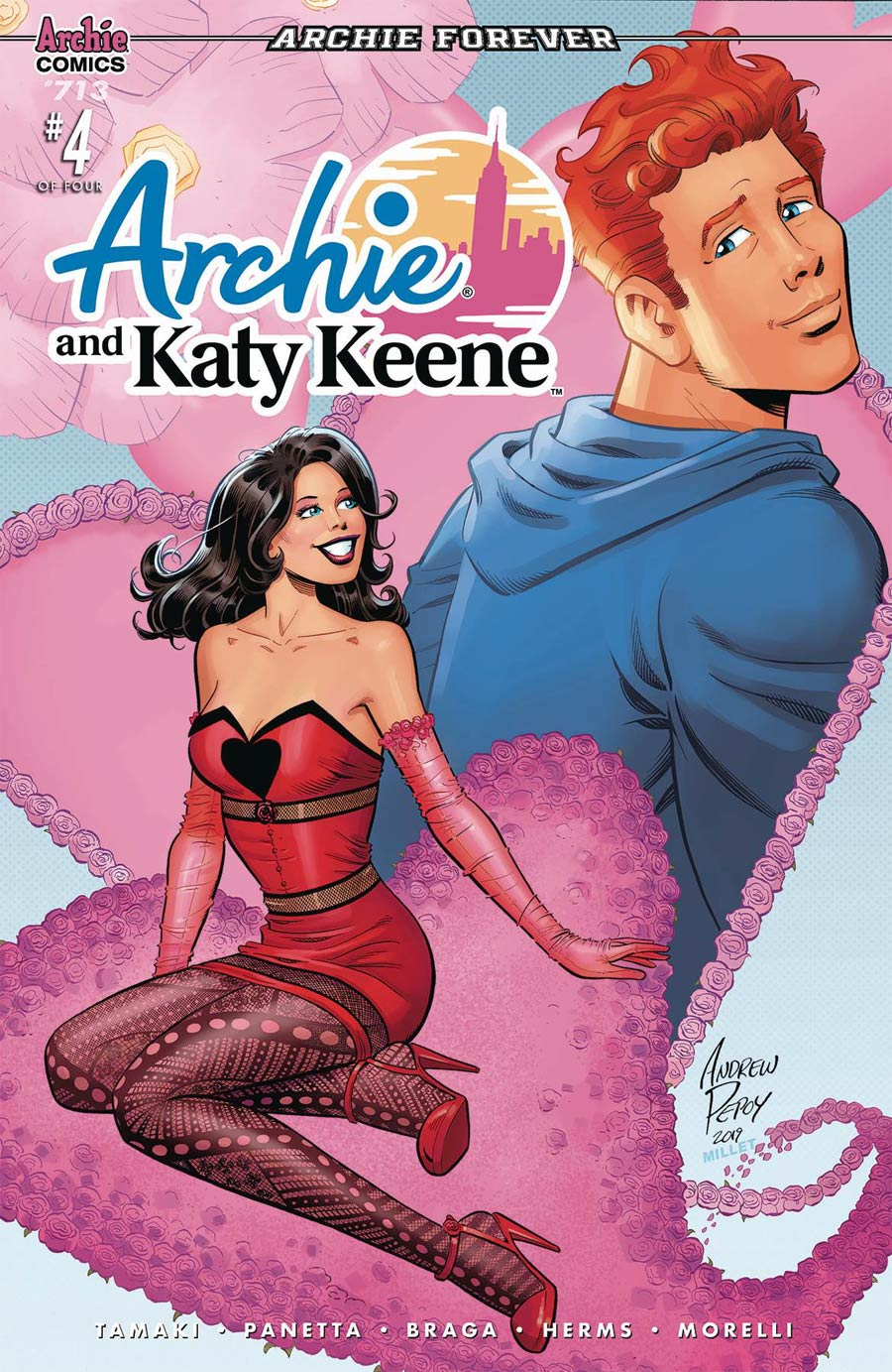 Archie Vol 2 #713 Archie And Katy Keene Part 4 Cover B Variant Andrew Pepoy & Jason Millet Cover