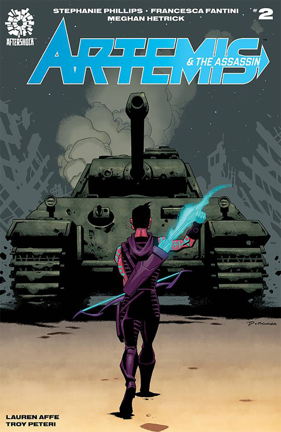 Artemis And The Assassin #2 Cover A Regular Phil Hester & Mark Englert Cover