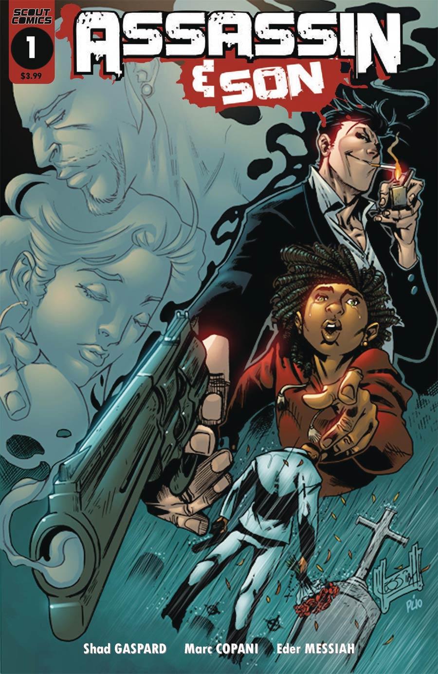 Assassin & Son #1 Cover A Regular Elder Messiah Cover