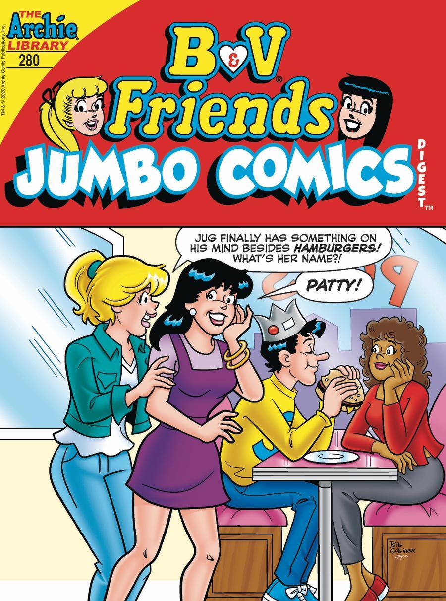 B & V Friends Jumbo Comics Digest #280