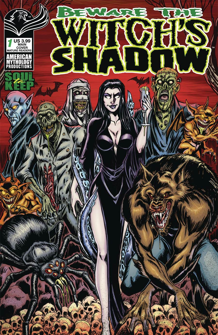 Beware The Witchs Shadow Soul To Keep #1 Cover A Regular Puis Calzada Cover
