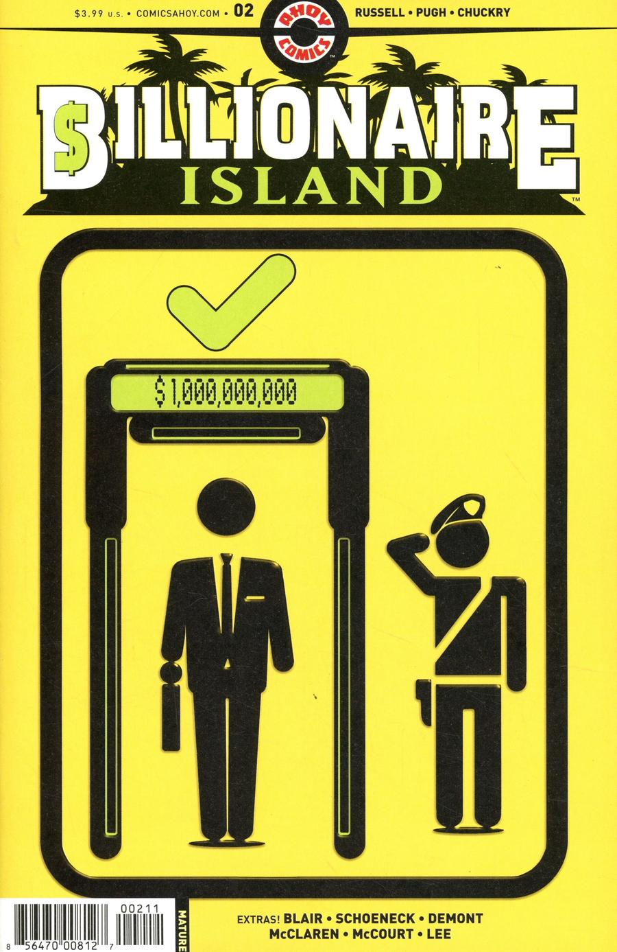 Billionaire Island #2 Cover A Regular Steve Pugh Cover
