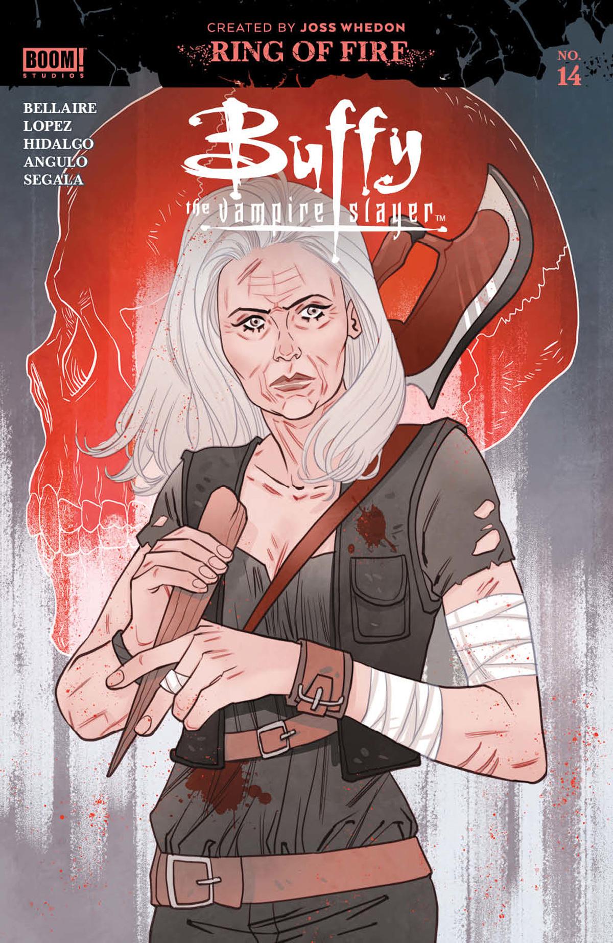 Buffy The Vampire Slayer Vol 2 #14 Cover B Variant Marguerite Sauvage Spotlight Cover