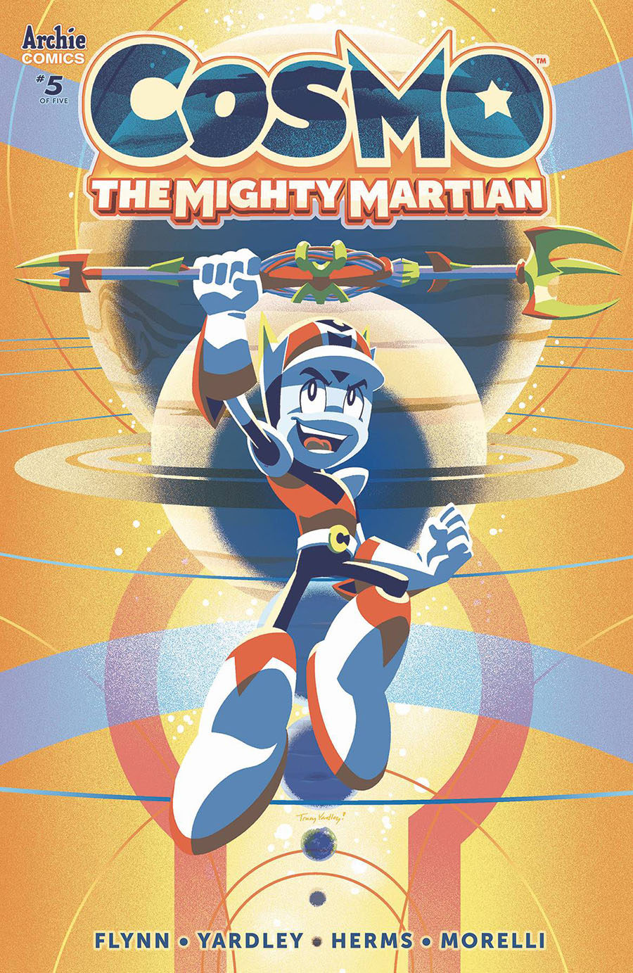 Cosmo The Mighty Martian #5 Cover A Regular Tracy Yardley Cover