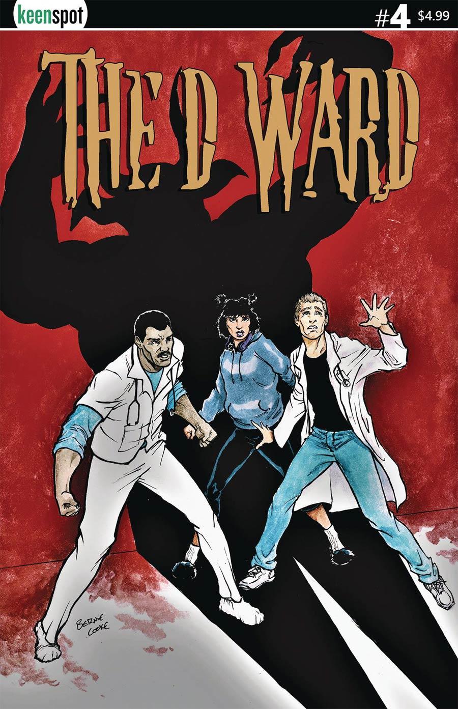 D Ward #4 Cover A Regular Bernie Cooke Cover