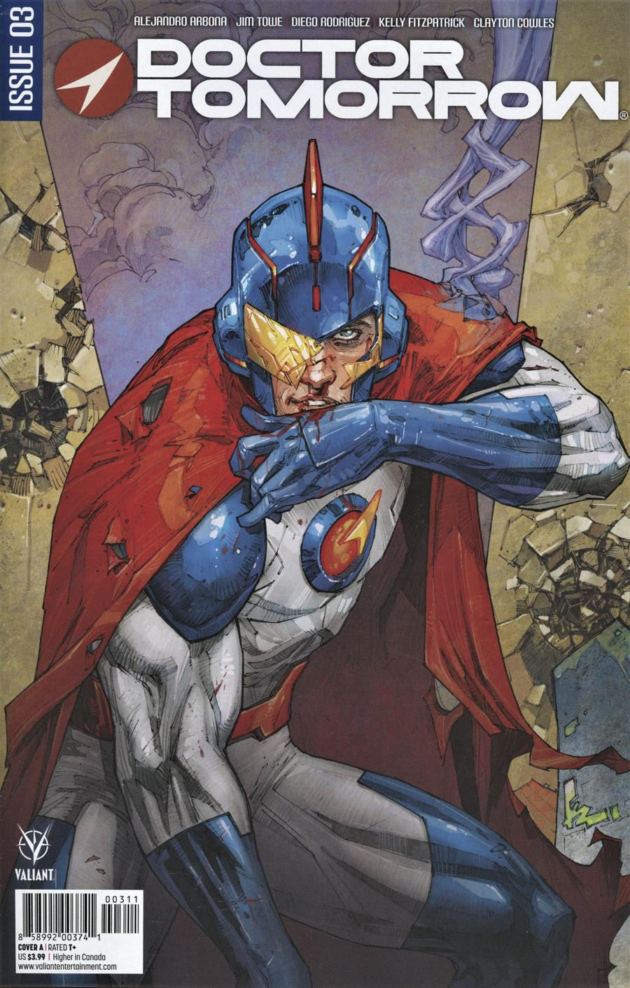Doctor Tomorrow Vol 2 #3 Cover A Regular Kenneth Rocafort Cover