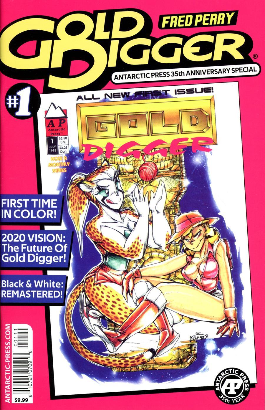Gold Digger #1 Antarctic Press 35th Anniversary Special