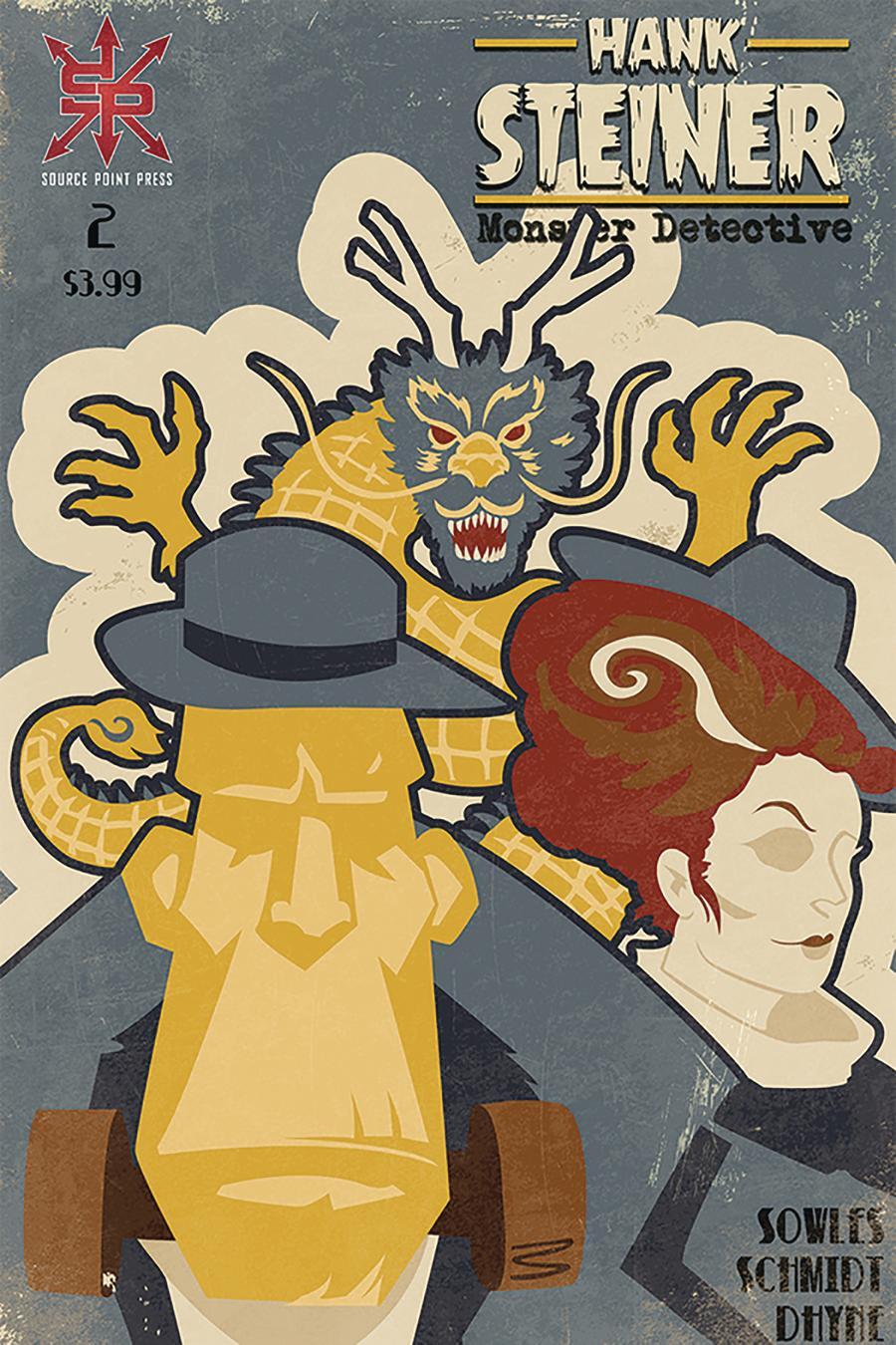 Hank Steiner Monster Detective #2