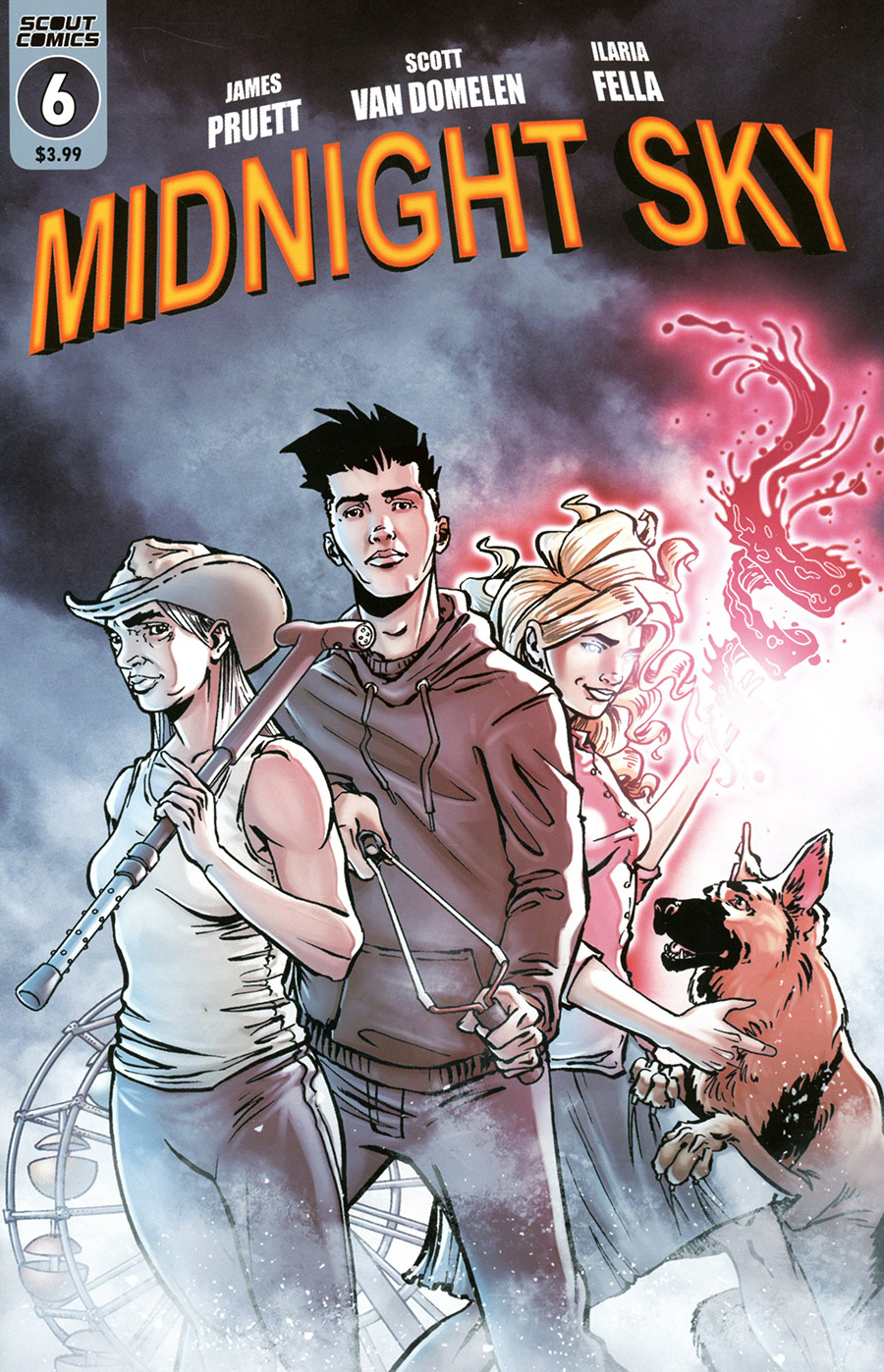 Midnight Sky #6 Cover B Variant Scott Van Domelen Zombieland Homage Cover