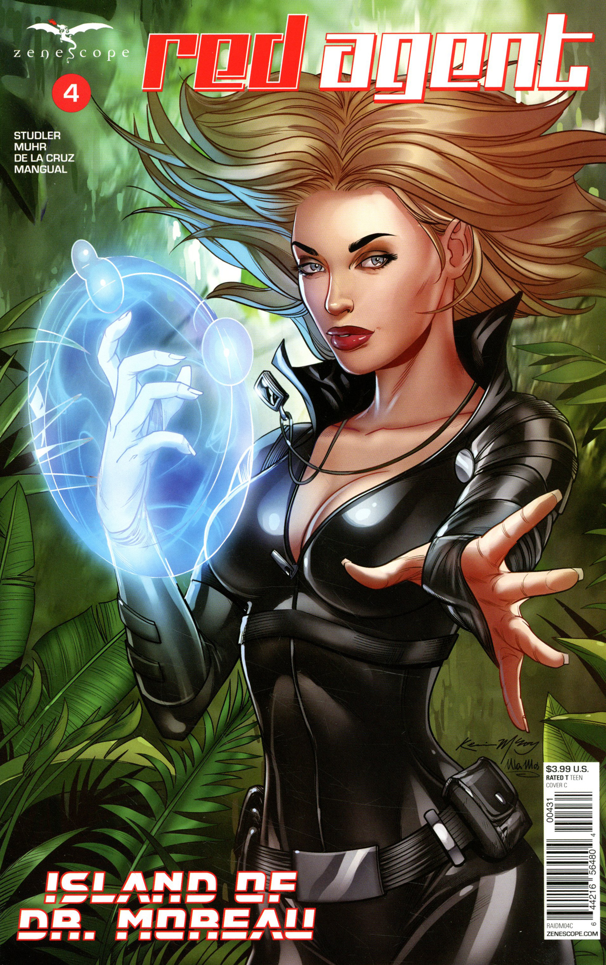 Grimm Fairy Tales Presents Red Agent Island Of Dr Moreau #4 Cover C Kevin McCoy