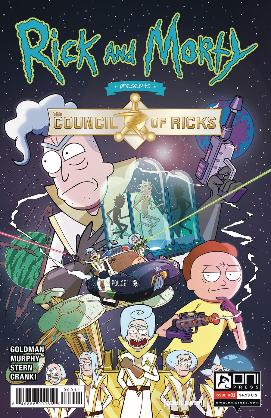 Rick And Morty Presents Council Of Ricks #1 Cover A Regular Phil Murphy Cover