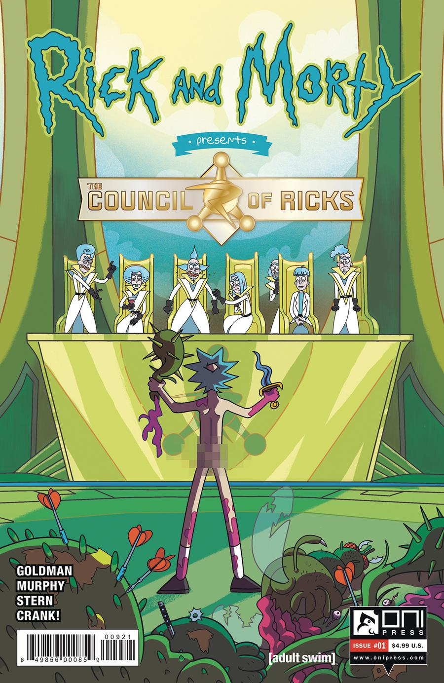 Rick And Morty Presents Council Of Ricks #1 Cover B Variant Julia Scott Cover