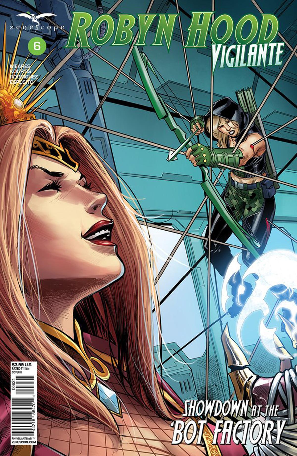 Grimm Fairy Tales Presents Robyn Hood Vigilante #6 Cover B Martin Coccolo