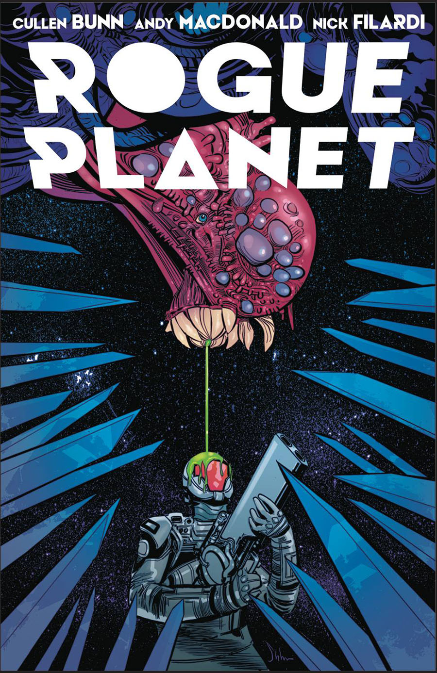 Rogue Planet #1 Cover B Variant Kyle Strahm Cover