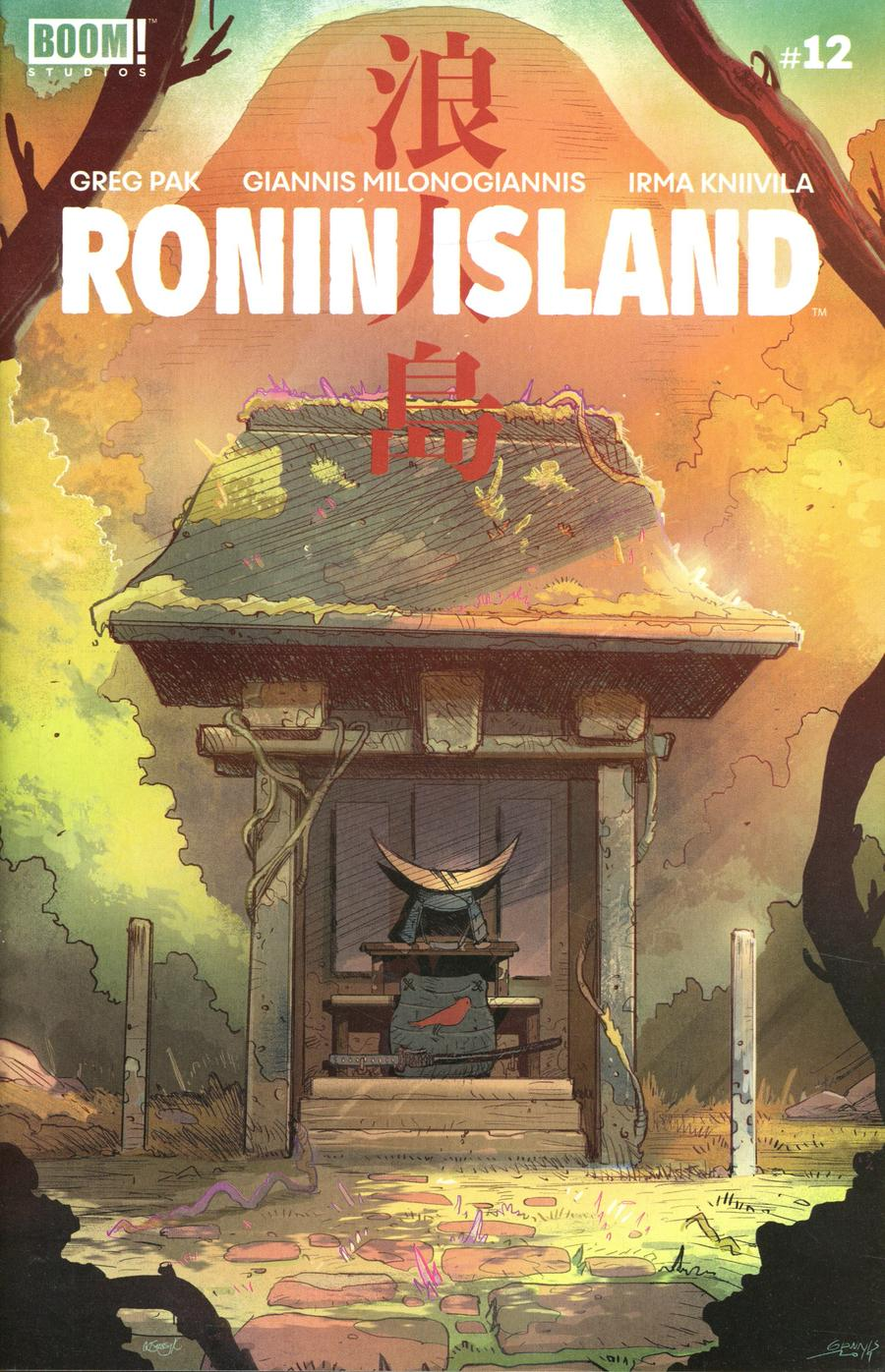 Ronin Island #12 Cover A Regular Giannis Milonogiannis Cover