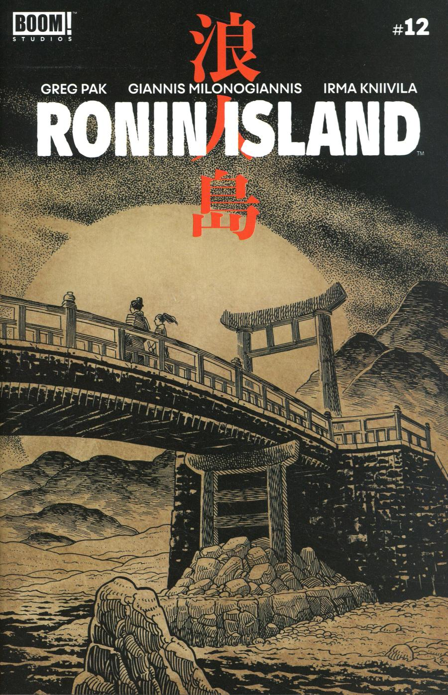 Ronin Island #12 Cover B Variant Ethan Young Preorder Cover