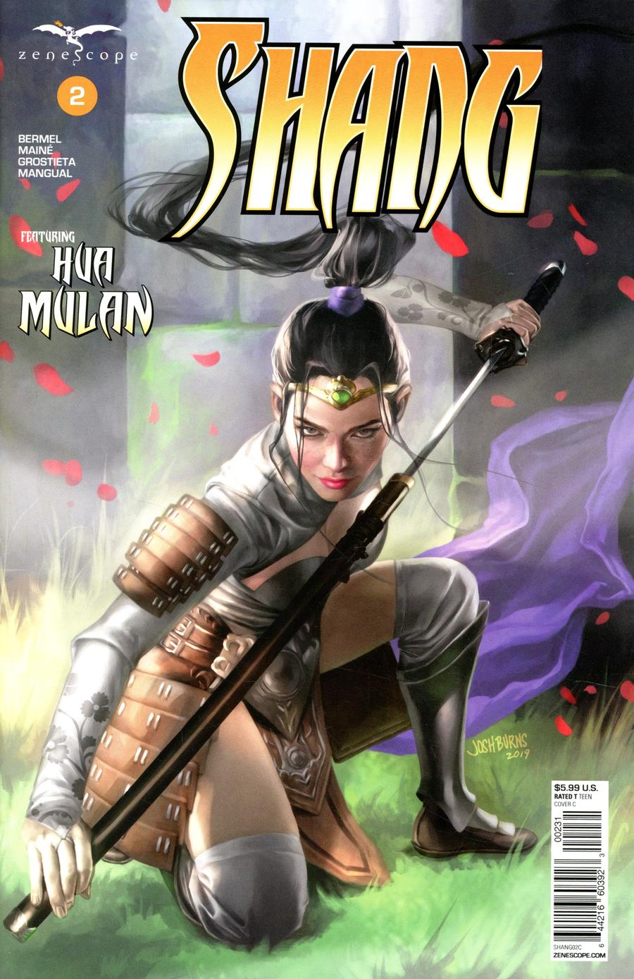 Grimm Fairy Tales Presents Shang #2 Cover C Josh Burns