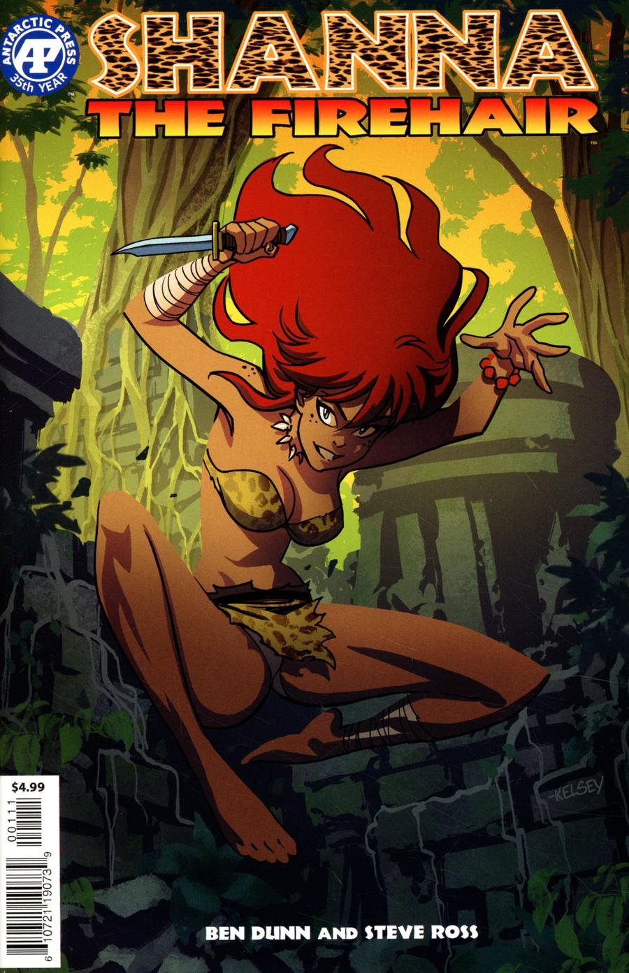 Shanna The Firehair One Shot Cover A Regular Kelsey Shannon Cover