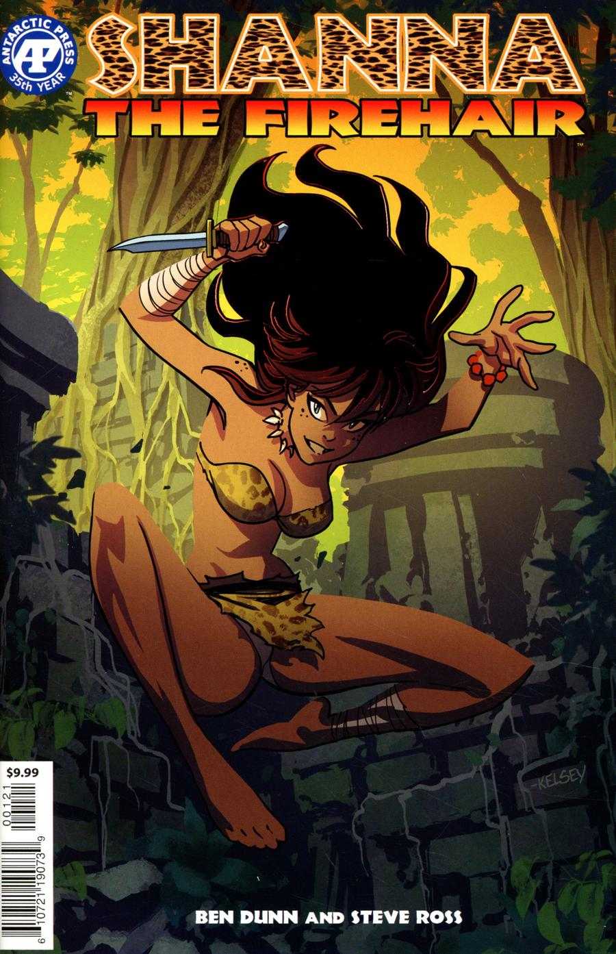 Shanna The Firehair One Shot Cover B Variant Kelsey Shannon Red Foil Cover