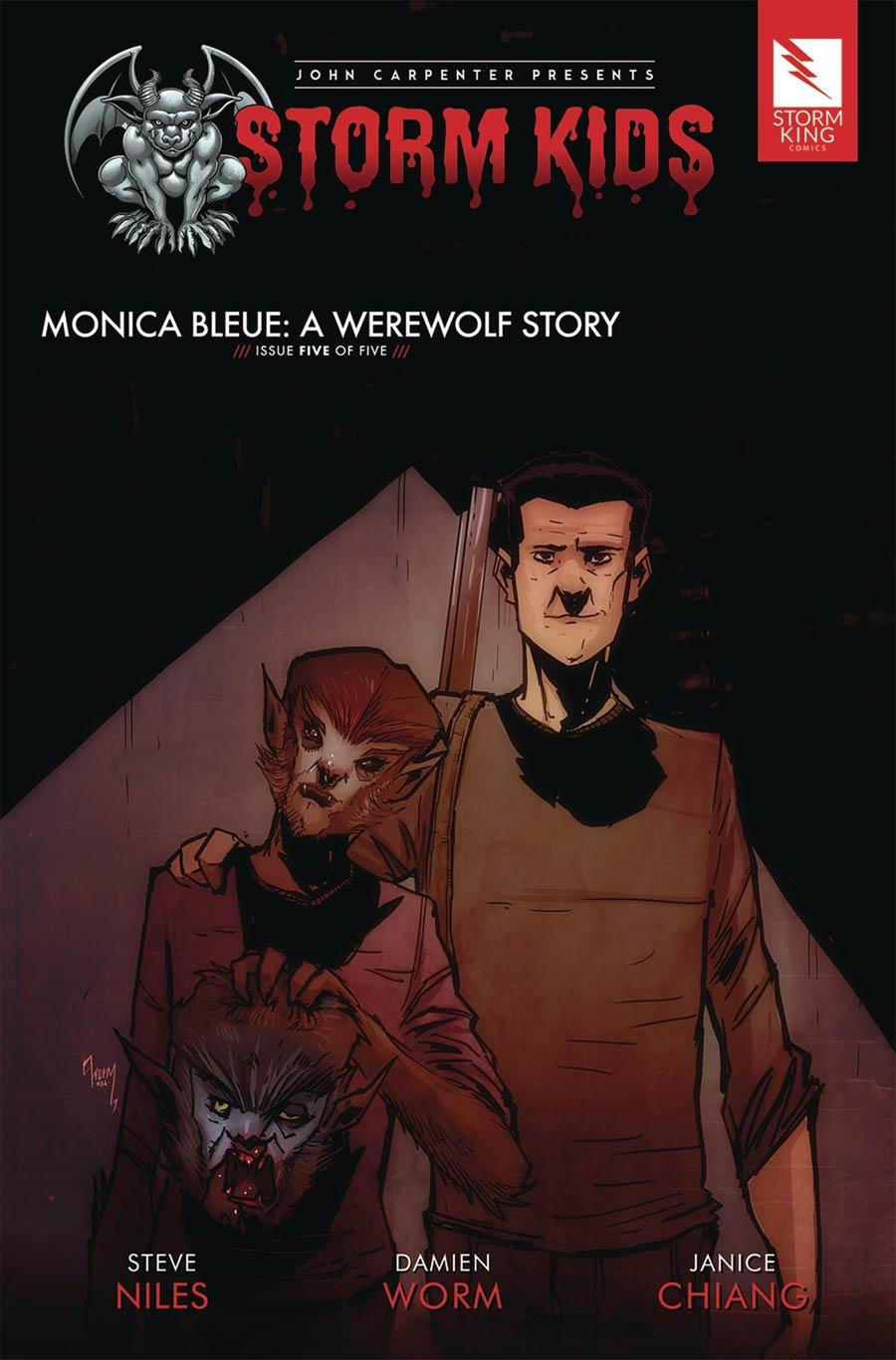 John Carpenter Presents Storm Kids Monica Bleue A Werewolf Story #5