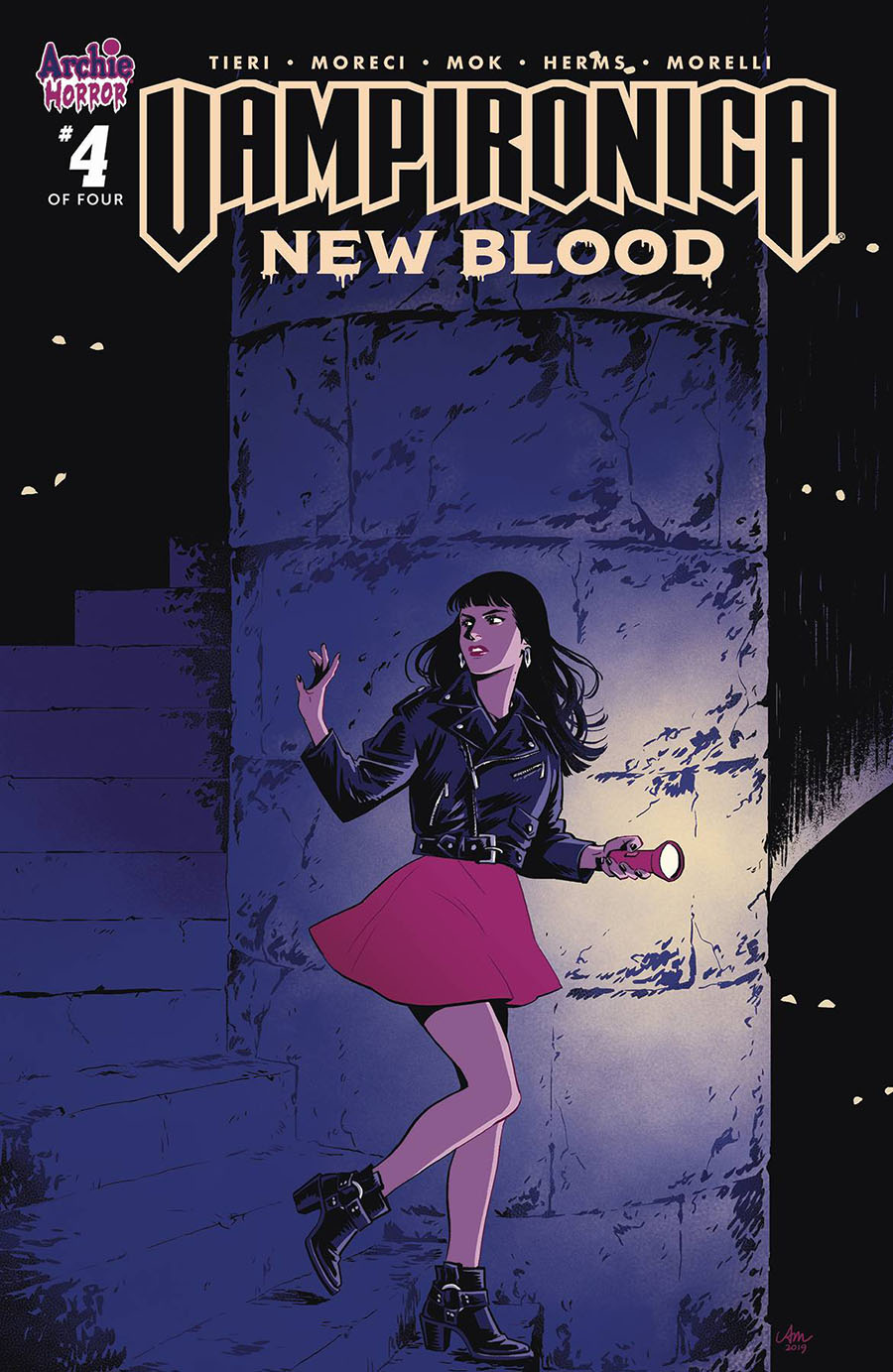 Vampironica New Blood #4 Cover A Regular Audrey Mok Cover
