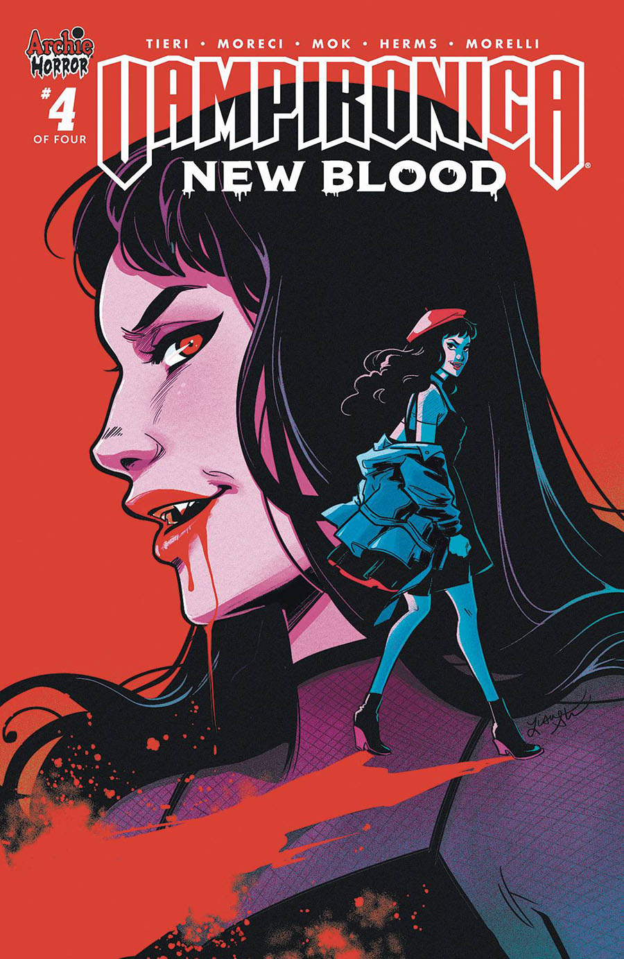 Vampironica New Blood #4 Cover C Variant Lisa Sterle Cover