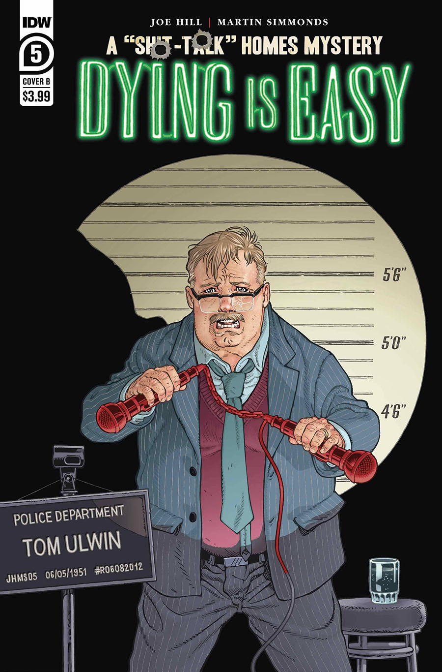Dying Is Easy #5 Cover B Variant Gabriel Rodriguez Cover