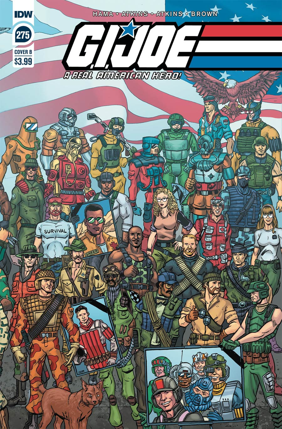 GI Joe A Real American Hero #275 Cover B Variant Jamie Sullivan Cover