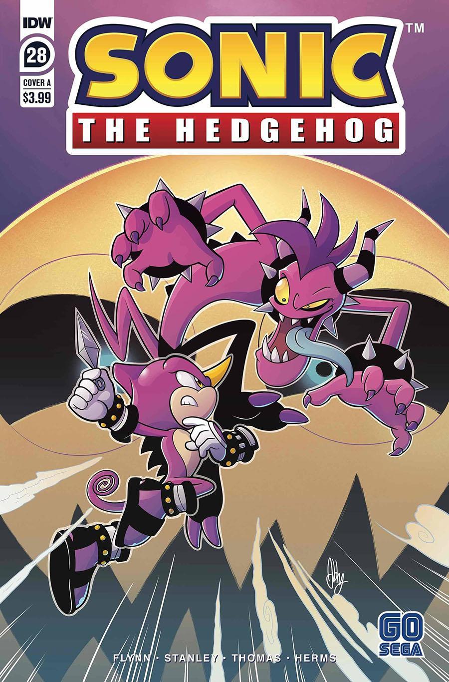 Sonic The Hedgehog Vol 3 #28 Cover A Regular Abby Bulmer Cover